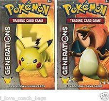 Lot of 2 X Generations Booster Packs Guaranteed 100% *Unsearched* Sealed Pokemon