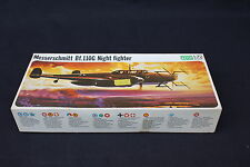 U735 FROG 1/72 avion MESSERSCHMITT Bf.110G F202 Night Fighter 1972