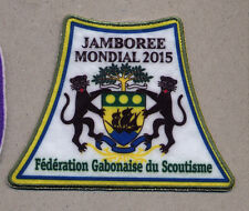 23rd world scout jamboree GABON CONTINGENT 2015