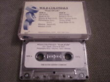 RARE ADV PROMO Wild Colonials CASSETTE TAPE Fruit Of Life ICEHOUSE Pearl Jam !