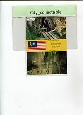 MP134 # MALAYSIA MINT PICTURE POST CARD T.1205 * BATU CAVES