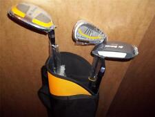 JUNIOR ST ANDREWS SET 1 HYBRID/ WOOD,1 IRON,PUTTER AND BAG 9-12yrs R/H GOLF CLUB