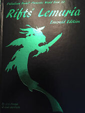 Rifts Lemuria - Emerald Edition - Hardcover - Printers Proof - Palladium Books