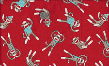 Socky the Sock Monkey I Spy Tosses By the Fat Quarter