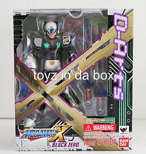 "In STOCK D-Arts ""Black Zero"" From (Megaman X Rockman) Bandai Action Figure"
