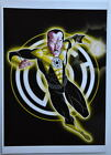SINESTRO Pin Up Print DC Green Lantern Terry Huddleston art