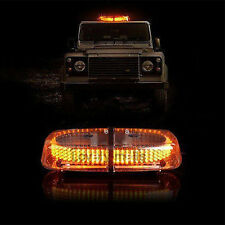 NEWEST 1Pc 240 LED Car Magnetic Amber Yellow Truck Strobe Flash Light Warning