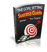 Setting Goals The Right Way Leads To Success - Always Hit Your Target  (CD-Rom)