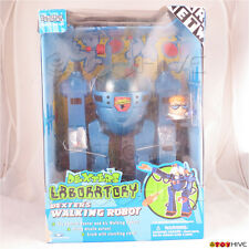Dexters Laboratory Dexter's Walking Robot from Cartoon Network worn open box