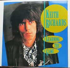 Rolling Stones Keith Richards - Learning The Game 1989 Brigand / Scorpio LP MINT
