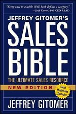 Sales Bible : The Ultimate Sales Resource by Jeffrey Gitomer (2014,...
