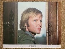 END OF THE GAME Original Lobby Card JON VOIGHT JACQUELINE BISSET ROBERT SHAW