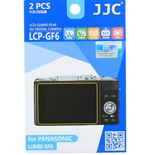 JJC LCP-GF6 polycarbonate LCD Film Screen Protector For Panasonic GF6  2 Pack