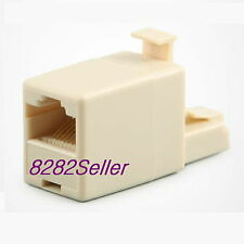 RJ45 Coupler 8P8C Straight  to Crossover Male to Female change Extension Cross