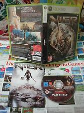 Xbox 360:Nier [TOP RPG SQUARE ENIX & 1ERE EDITION RARE] COMPLET - Fr