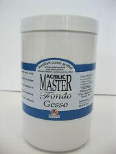 Ferrario Acrilic Master Gesso Professional use  1000ml   (Made in Italy)