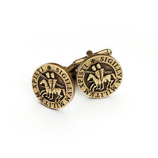 Superb Quality Masonic Knights Templar Seal Cufflinks