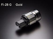Furutech fi-28g fi-28 g frío dispositivos conector IEC c14 frío dispositivos embrague oro