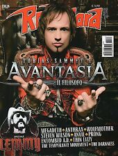 Rock Hard 2016 34#Tobias Sammet's Avantasia,Megadeth,Wolfmother,Thin Lizzy,Anvil