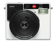 New Leica Sofort Instant Film Camera White Fuji Fujifilm Instax Mini Polaroid