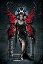 """Anne Stokes POSTER """"Arcnafaria Butterfly, Fantasy 61x91cm"""" NEW Licensed"""