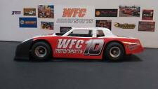WFC Motorsports (WFC-10) Vacuformed Slope Nose Metric Monte UNPAINTED 1:24 th