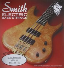 KEN SMITH RM-M ROCK MASTER STEEL BASS STRINGS, MEDIUM GAUGE 4's - 45-105