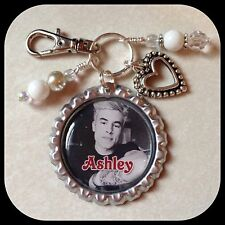 Personalized KIAN LAWLEY Bottle Cap Name Necklace Jewelry, Zipper Pull Pendant