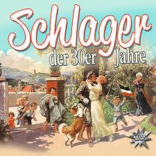 CD Schlager Der 30er Jahre von Diverse Interpreten CD Sampler