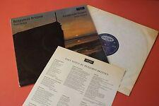 RG 424 Benjamin Britten Part Songs Elizabethan Singers Parry Halsey ARGO UK LP