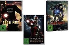 $ 3 DVDs * Iron Man 1 + 2 + 3  im SET - Robert Jr. Downey # NEU OVP  $