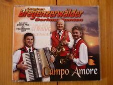 Bregenzerwälder Dorfmusikanten Campo Amore  2 TRACKS MCD  RAR! Neu