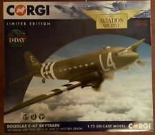 Corgi Aviation D-Day Douglas C-47 Skytrain '42-100646' 439th TCG Devon AA38207