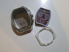 Original 31mm Titus 316L Stainless Steel Chronograph Watch Case with dial