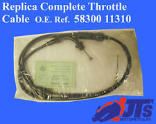 SUZUKI GT250 X7 EN / ET / EX X7 (78-82) COMPLETE THROTTLE CABLE MADE IN JAPAN