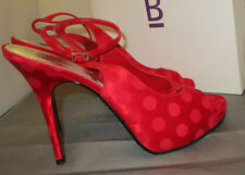 Bakers shoes size:9 Stevie Red polka dot 3' heels    2S`