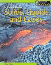 Solids, Liquids, and Gases: From Ice Cubes to Bubbles (Science Answers)