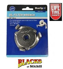 Blue Spot Tools - Oil Filter Removal Wrench, 63.5-98.5mm,Ford,Vauxhall,VW,07002