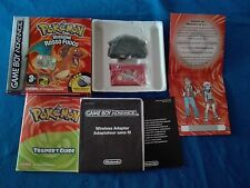 Pokemon Rosso Fuoco per Game Boy Advance GBA completo DS