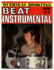 BEAT INSTRUMENTAL Magazine No 50 June 1967 Cream Steve Marriott Jeff Beck Who