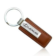 LEXUS BROWN LEATHER KEY CHAIN