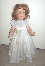 "Vintage 24"" Doll w/ Googly Eyes Look Left & Right  Creazioni Artistiche  Napoli"