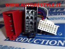 Cavo ISO adattatore autoradio cable Alpine harness 16 PIN con PIN tondi innesto