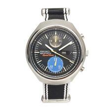 1970s Vintage Seiko Sports Speed Timer 6138-0020 Tokei Zara — 5 BONUS Straps