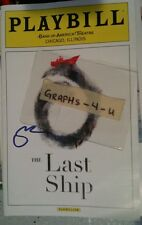 STING SIGNED THE POLICE AUTOGRAPH THE LAST SHIP COA X