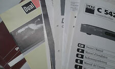 Original Service Manual Grundig Fine Arts Infrared Line AS T CD CF IR  in DE EN