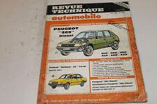 """Revue technique automobile n°456 06/1985 Peugeot """"205"""" diesel"""