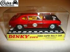 DINKY 213 FORD CAPRI RALLY CAR - NR MINT in original BOX