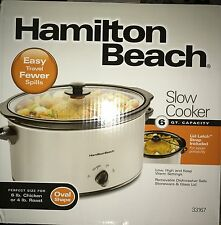Hamilton Beach 6 qt Slow Cooker 33167 ***BRAND NEW***