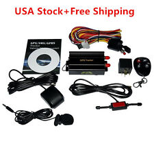 NEW GPS/SMS/GPRS TRACKER TK103B VEHICLE TRACKING SYSTEM WITH REMOTE CONTROL E1